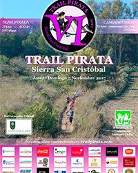 Cartel de la VI Trail Pirata