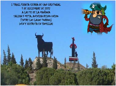Cartel I de la Trail Pirata 2012