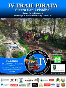 Cartel IV de la Trail Pirata 2015