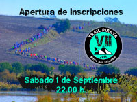 Inscripciones VII Trail Pirata